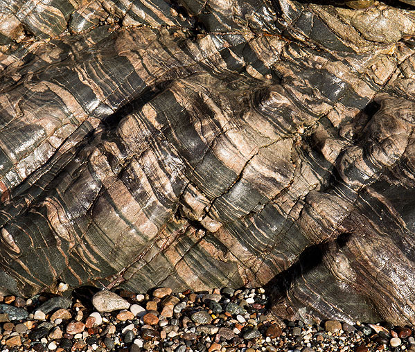 Rock - Banded Kennack Gneiss - Kennack Sands (S23)