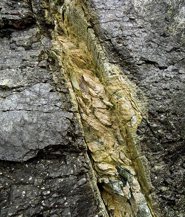Veins of Talc  - Kennack Sands. S18)