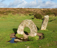 Men-An-Tol Holed Stone - 1