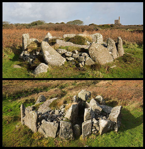 Bosiliack Barrow - Chambered Cairn