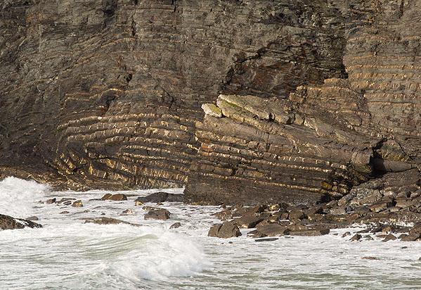 Recumbent Fold - Crackington Haven (S3)