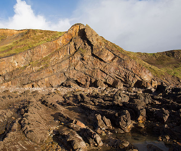 Anticline - Upton Cross Beach (S7)