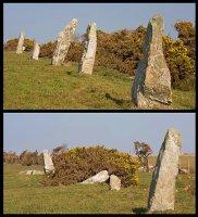 Nine Maidens - Stone Row
