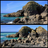 Lusty Island - Natural Arches