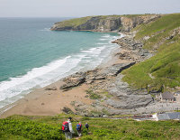 Trebarwith Sands - 2