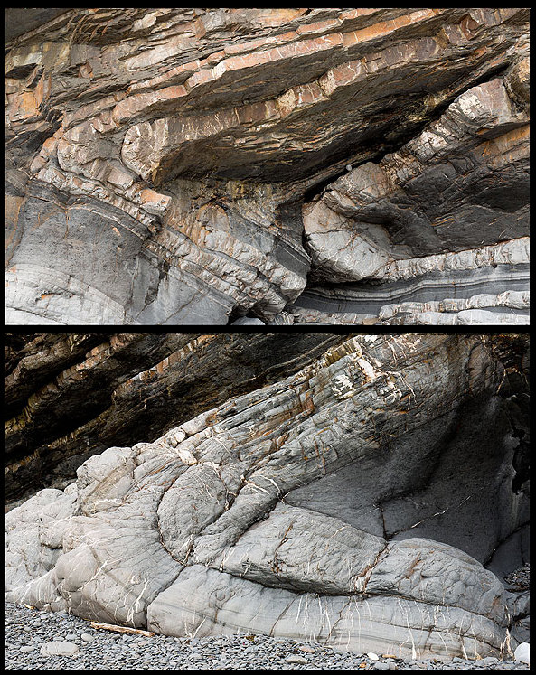 Millook Haven Folds