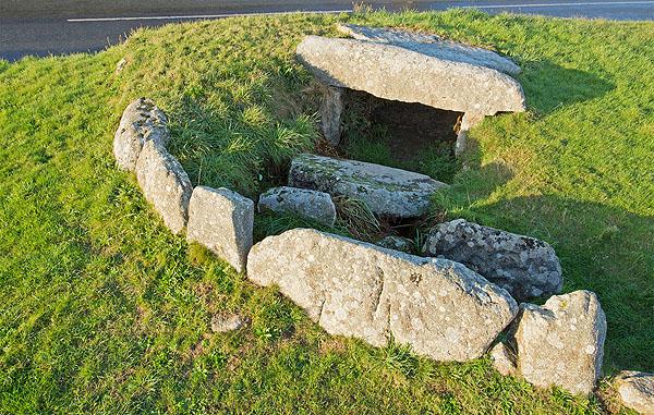 Tregiffian Barrow - Chambered Cairn