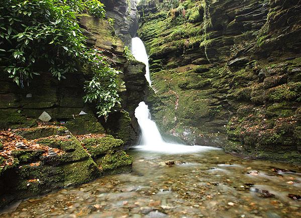 St Nectan's Kieve Waterfall