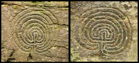 Rock Carvings - Rocky Valley