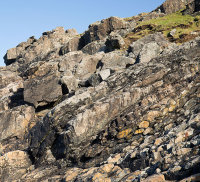 Pillow Lavas / Burthallan Cliff