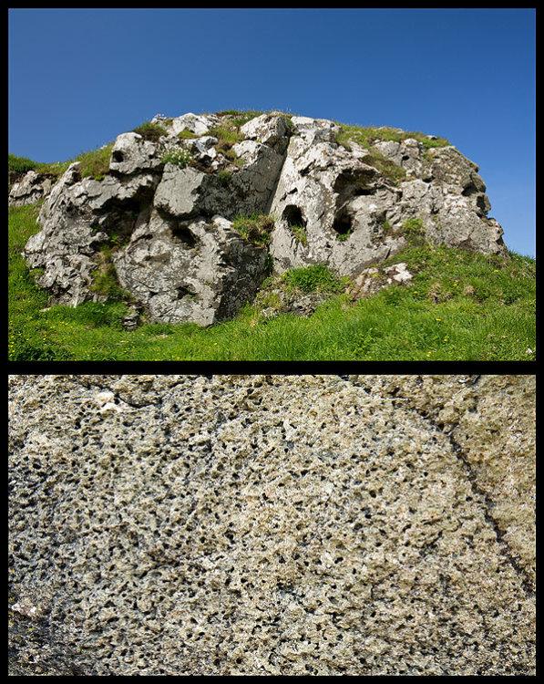 Vesicular Lava - Pentire Head (S10)
