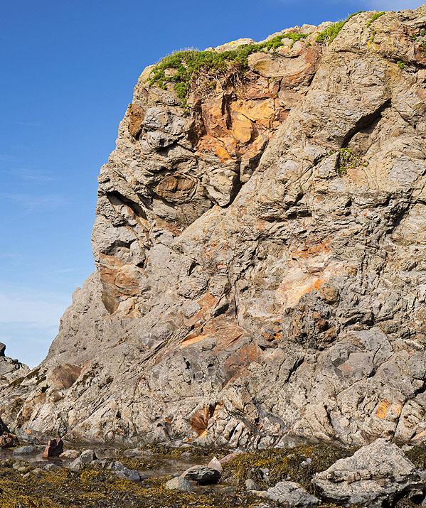Slump Breccias - Black Rock - Widemouth Bay (S7)