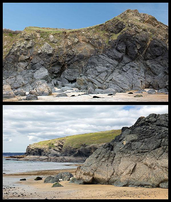 Hornblende Schist - Polurrian Cove (S22)