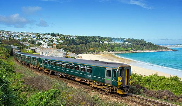 GWR train - Carbis Bay