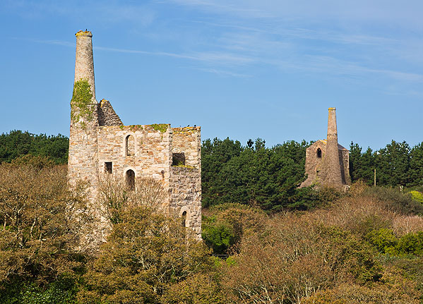 Wheal Friendly and Polberro / Engine Houses