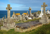 Alfred Wallis Tombstone / St Ives - 1