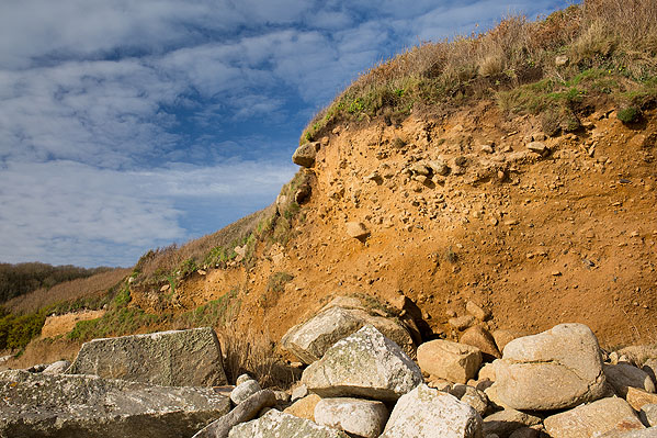 Periglacial Head Deposits - St Loy's Cove