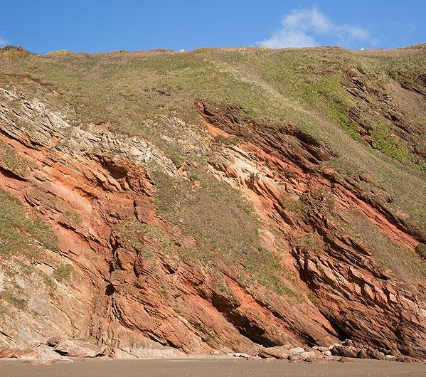 Red Devonian Rocks - Blarrick Cliff (S31)