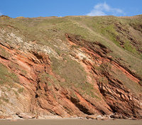 Red Devonian Rocks - Blarrick Cliff (S26)