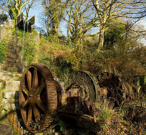 Luxulyan Valley - Carmears Waterwheel