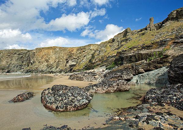 Hole Beach - Trebarwith Strand
