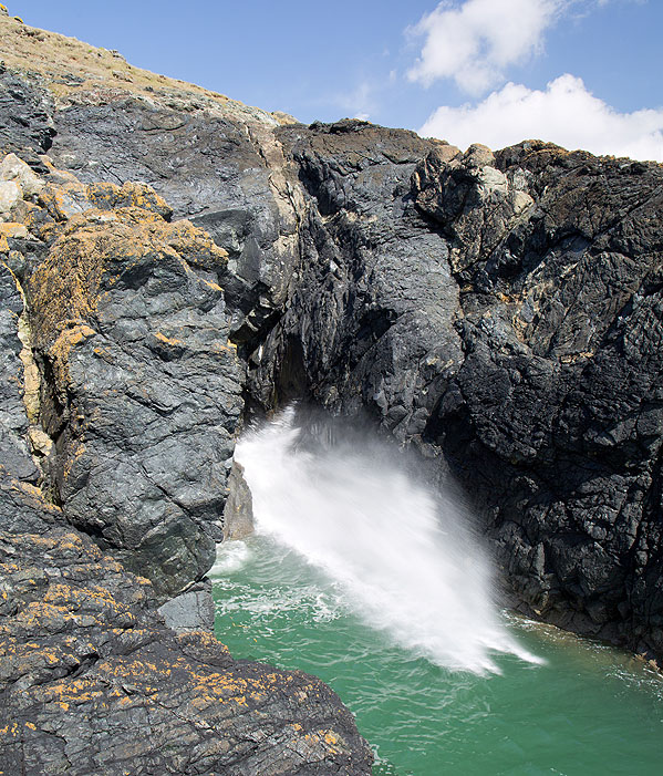 Blowhole - Enys Head