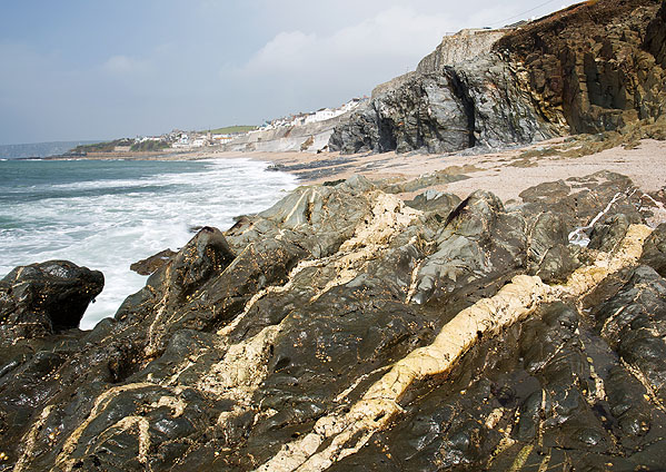 Quartz Veins - Porthleven Cliffs (S17)