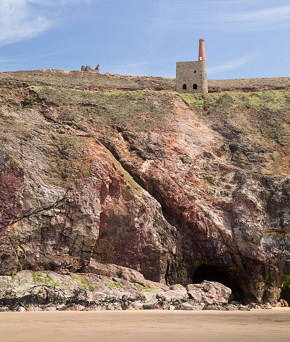 Elvan Dyke - Wheal Coates - Chapel Porth (S14)