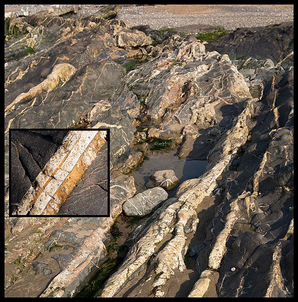 Quartz Veins / Siderite - Crackington Haven (S8)