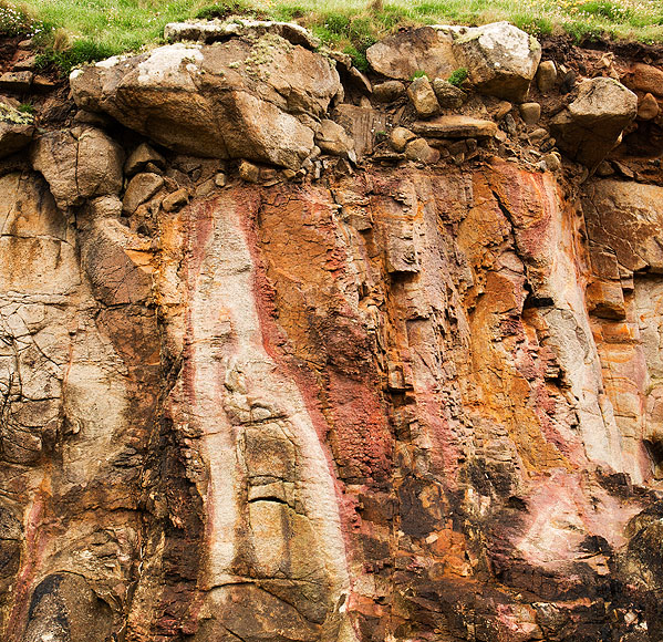 Granite Cliffs / Raised Beach - Cape Cornwall (S17)