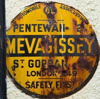 AA  Village Sign - Mevagissey