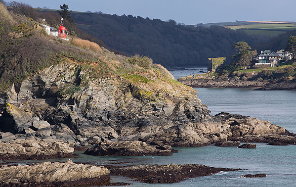 Fowey Lighthouse / Polruan Blockhouse