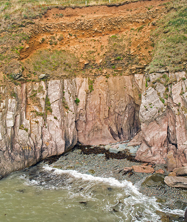 Old Beach Platform - Western Combe  Cove (S36)