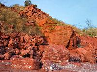 Oddicombe Permian Cliffs
