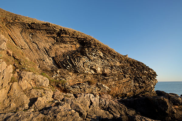 Fold / Thrust Fault - Hope's Nose (S37)