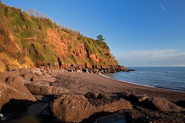 Permian Breccia - Maidencombe Beach (S37)