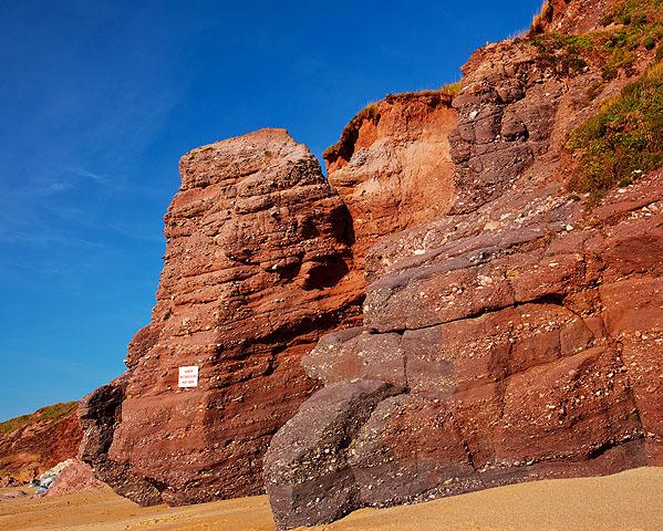 Permian Breccia Cliffs - Thurlestone Sand (S34)