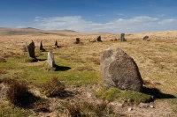 White Moor , Little Hound Tor - Stone Circle