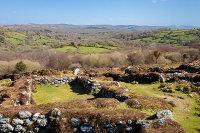 Hound Tor - Deserted Medieval Settlement