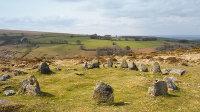 Nine Maidens Stone Circle - Belstone