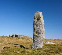 Beardown Man Standing Stone - 1