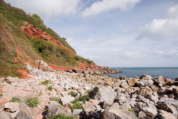 Petit Tor Beach - 1