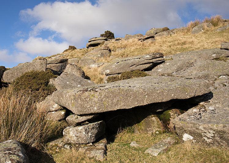 Crockern Tor - Granite Table