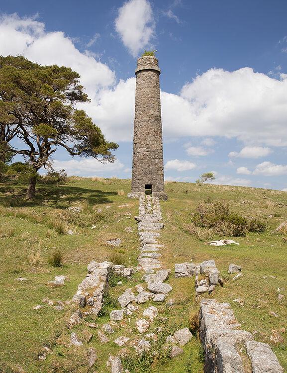 Powder Mills - Southern Chimney - Flue
