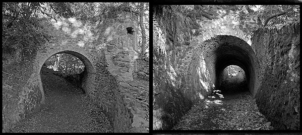Ashley Combe Tunnels