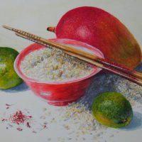 Rice with Mango and Limes