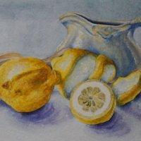 Lemons with Jug