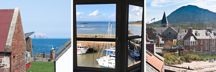 6 harbour terrace / view from three windows