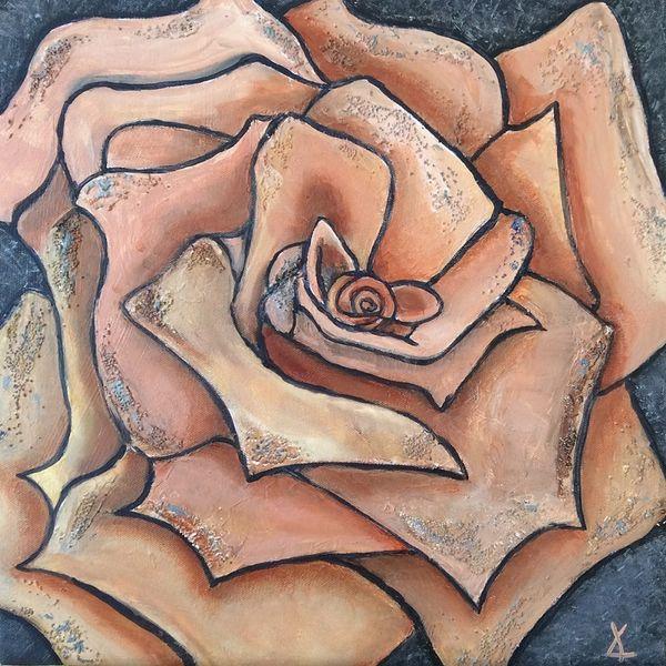 rose, textures,
