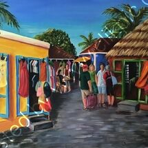 market, Caribbean, colourful, hot